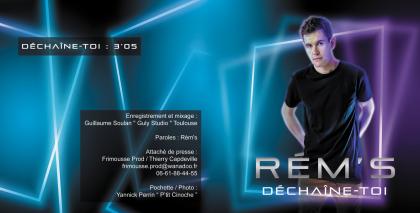 Pochette CD Rém's